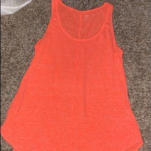 Old Navy orange tank